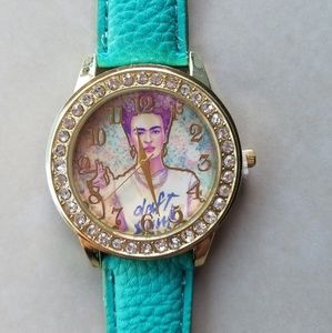 Accessories - Mexican painter Frida kahlo  watch.